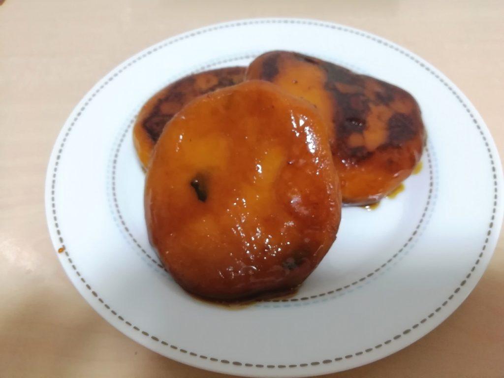 砂糖醤油のかぼちゃ餅 砂糖醤油のかぼちゃ団子
