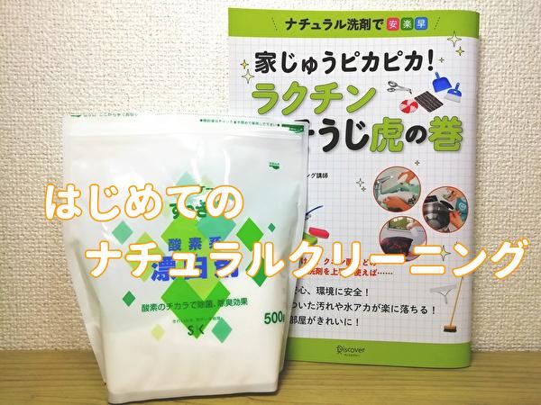 過炭酸ナトリウム ナチュラルクリーニング